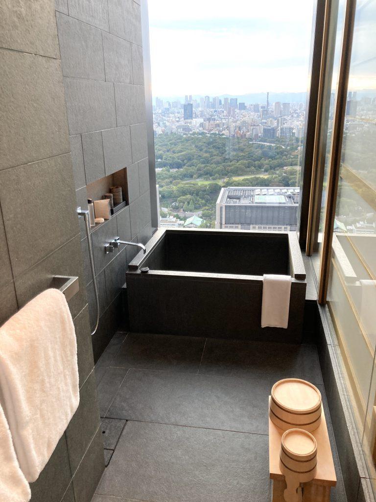 アマン東京 絶景お風呂 高級ホテル