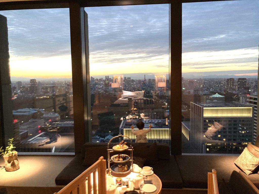 アマン東京 夜景が綺麗なホテル