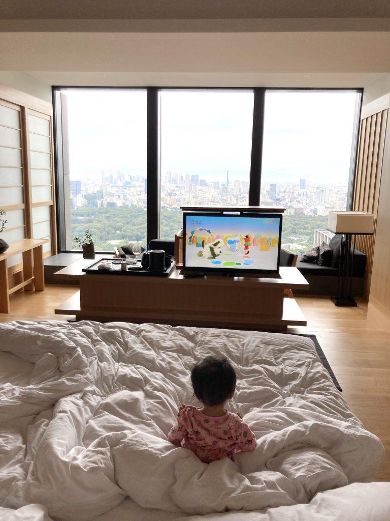 東京 高級ホテル 赤ちゃん 宿泊