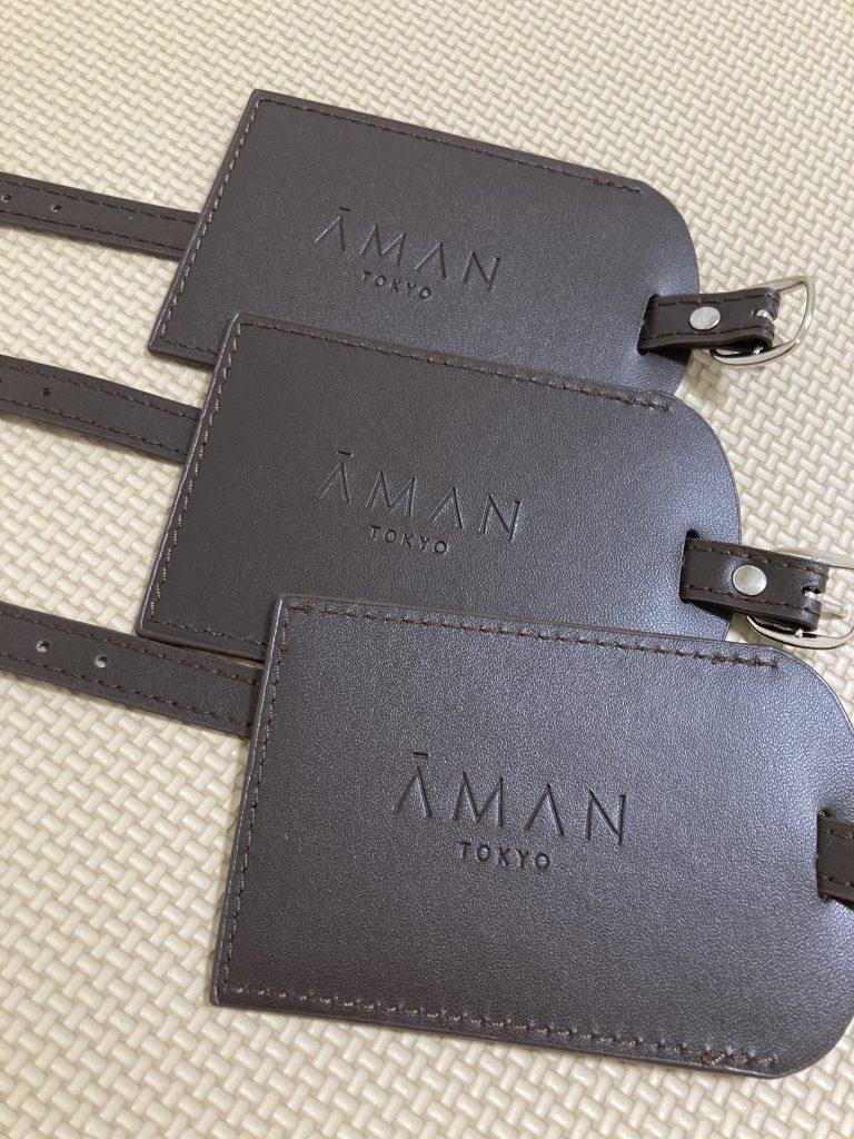 アマン東京 ネームタグ ブログ