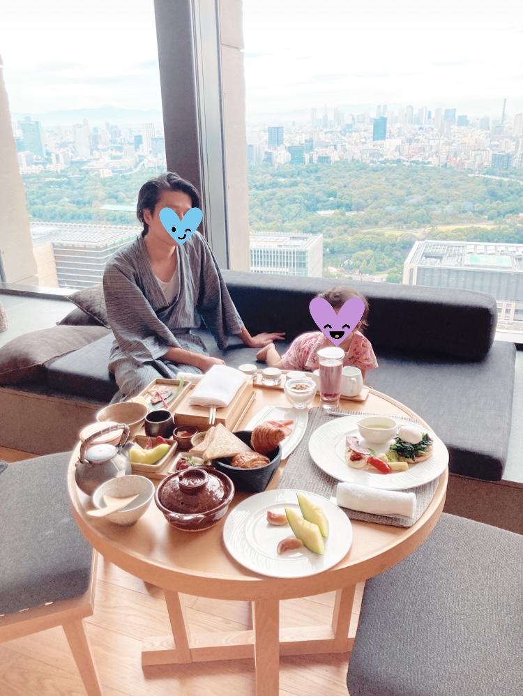 アマン東京 朝食 ブログ