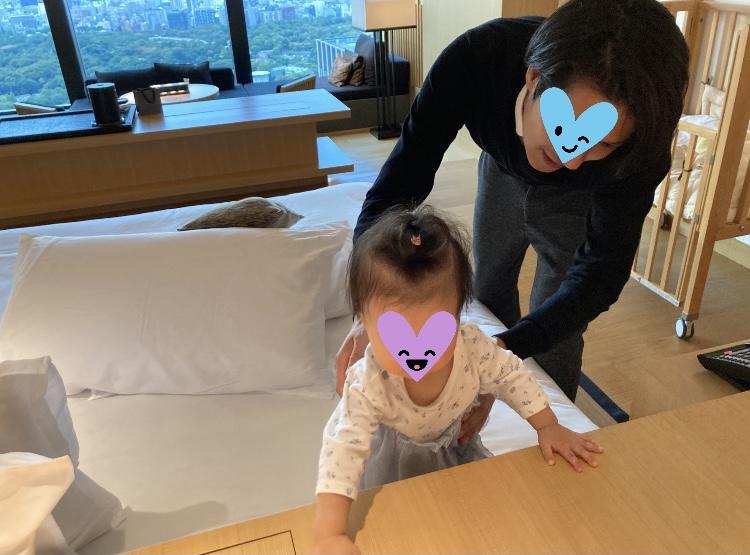 アマン東京 家族旅行 ファミリー