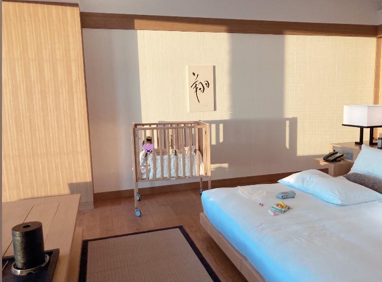 アマン東京 ベビーベッド 五つ星ホテル