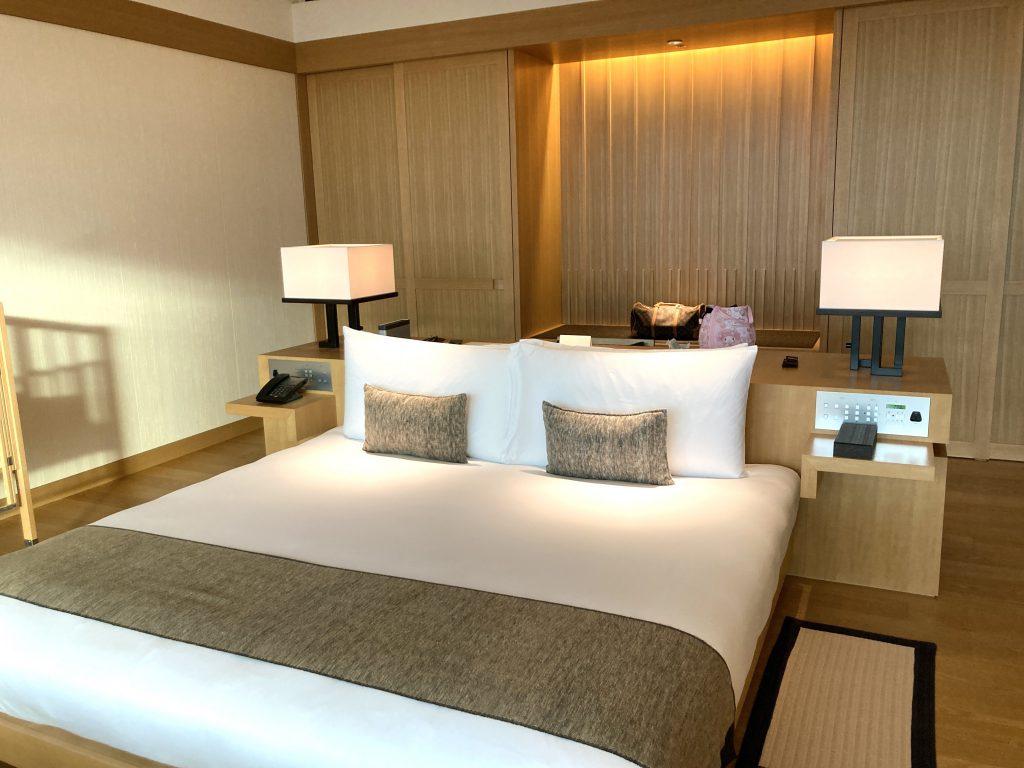 アマン東京 ベッドルーム 寝室