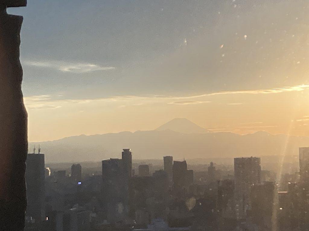 アマン東京 眺望 富士山