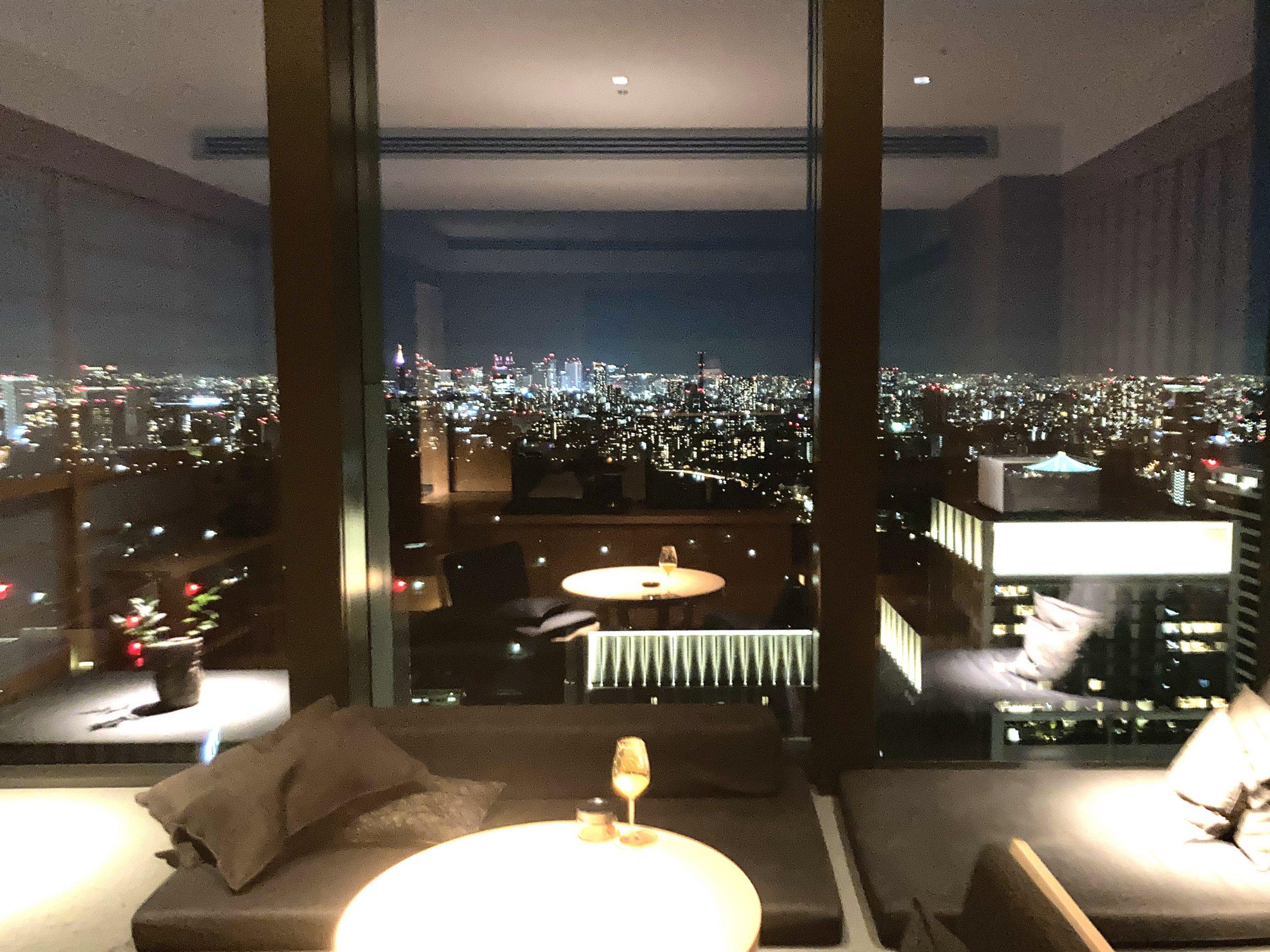 アマン東京 夜景
